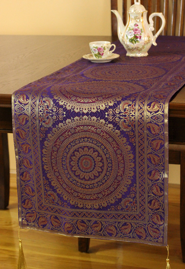 Exotic Oriental Table Runner