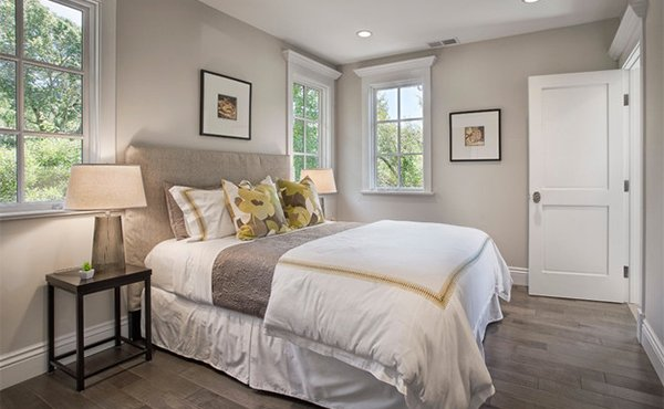 Yellow and Grey Bedroom Designs