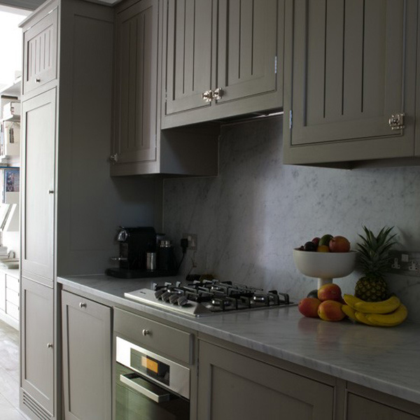 Gray Home Design Ideas: 16 Nicely Painted Kitchen Cabinets