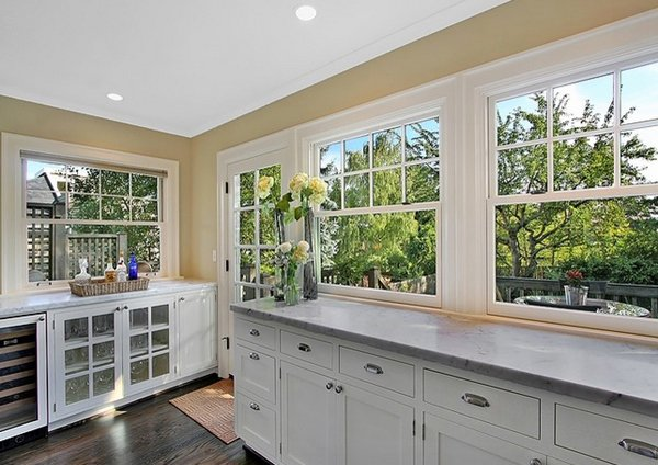 Beau Classy Kitchen Windows