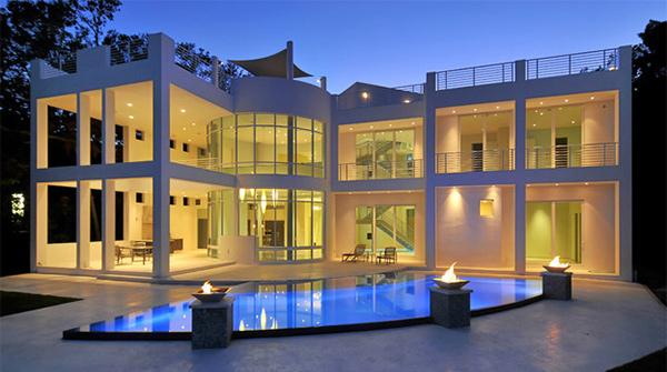 modern inground pools