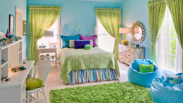 15 bedrooms of lime green accents home design lover 15478 | lime green bedroom