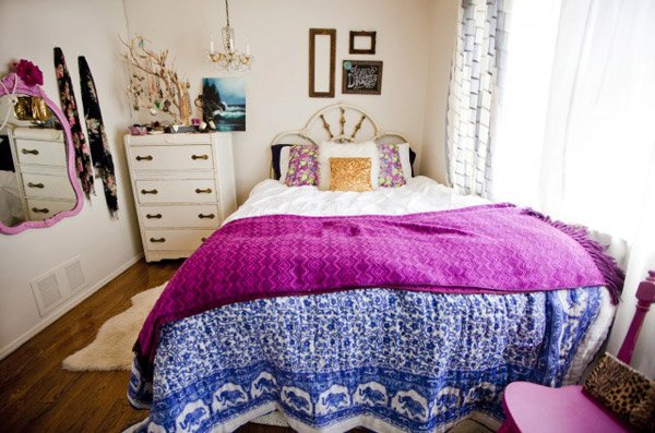 15 Fun Bohemian Style Bedroom Designs | Home Design Lover
