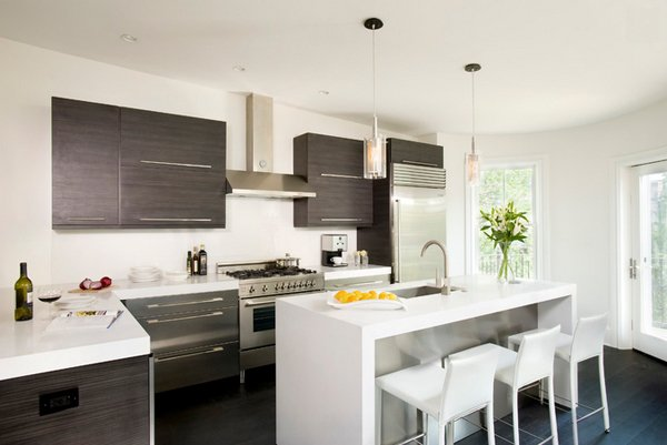 15 Beautiful L-Shaped Kitchens | Home Design Lover