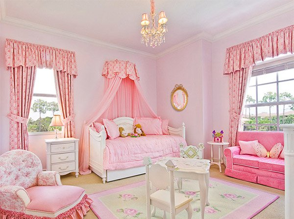 Princess Canopy Bedroom