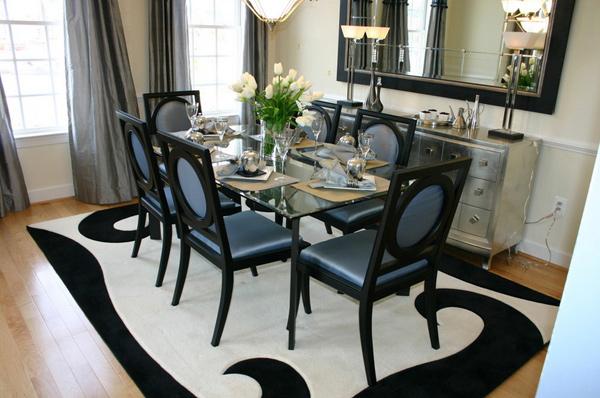 rectangular dining set