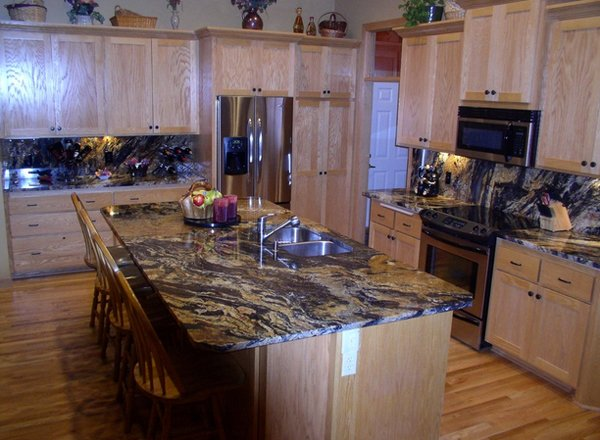 traditional countertops