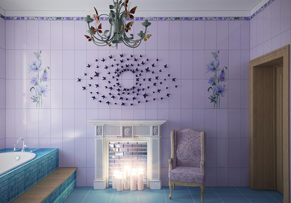 Butterfly fairy Bathroom