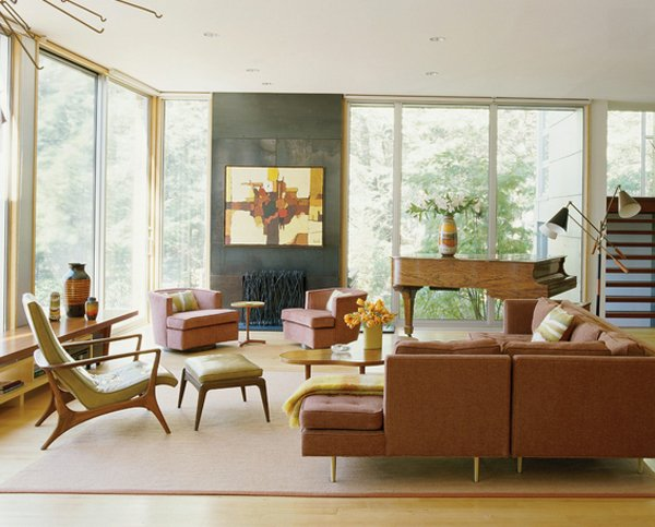 contemporary loft feel