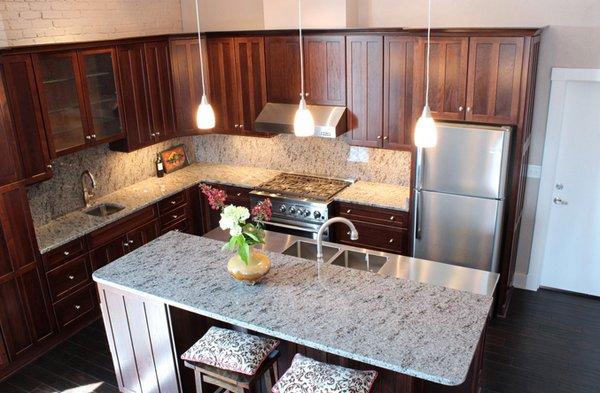 15 Different Granite Kitchen Countertops | Home Design Lover