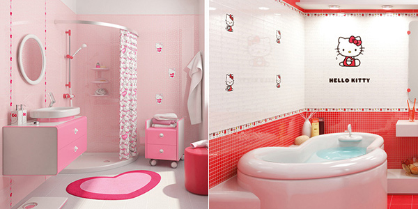 18 Colorful and Whimsical Kids Bathroom Home Design Lover