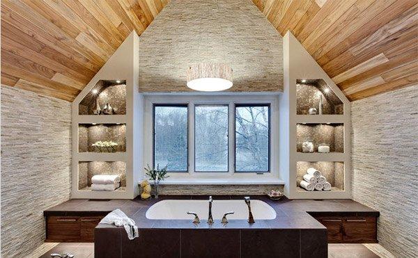 Transitional Master Bath Cabinet