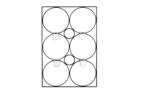 Geometry Contemporary Candle Wall Sconce