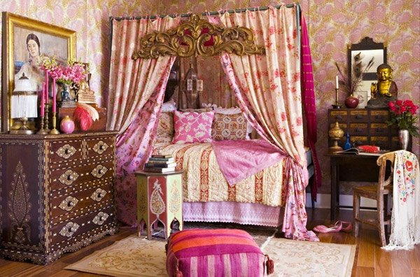 Bohemian Bedroom Designs