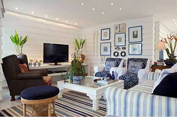 15 Awesome Beachy Living Rooms | Home Design Lover