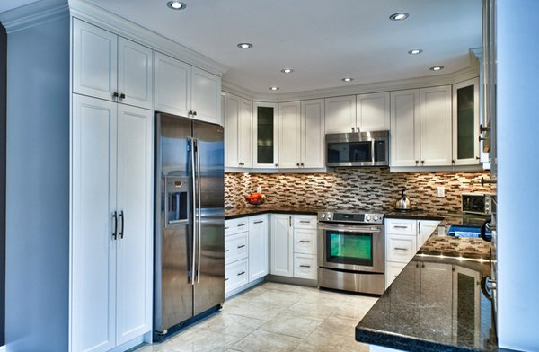 Indian Small L Shaped Kitchen Design