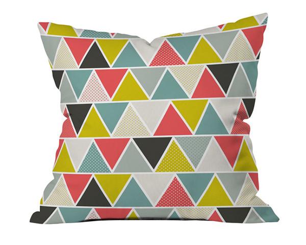 Geometric Throw Pillow Designs