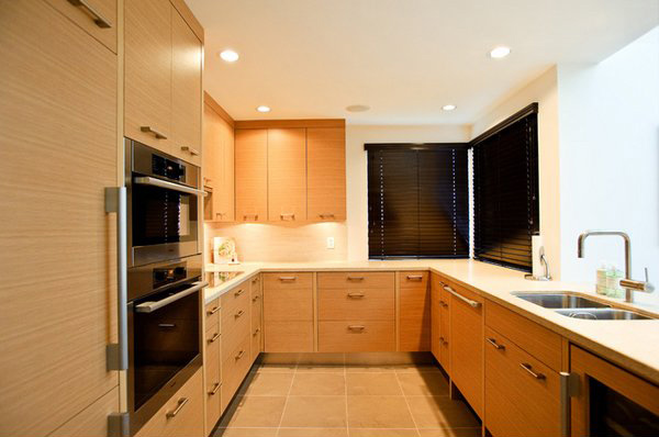 Remodeling Shaped Kitchen Kitchen Design Ideas ~ Contemporary u shaped kitchen designs home design lover