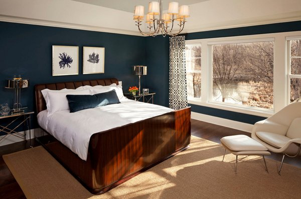 15 Beautiful Brown and Blue Bedroom Ideas | Home Design Lover