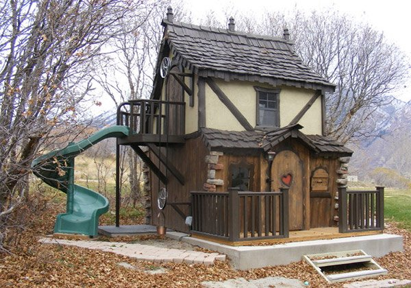 whimsical playhouse