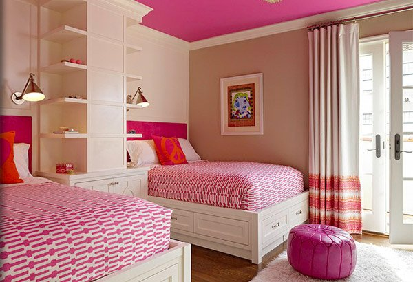 Good Identical Twin Bedroom