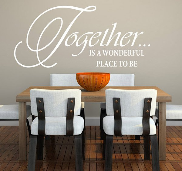 Superbe Wall Quote Decals