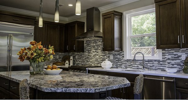 granite kitchen countertops. Blue 15 Different Granite Kitchen Countertops  Home Design Lover