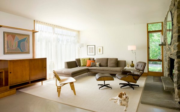 Mid Century Modern Living Room 15 fab mid-century modern living rooms | home design lover