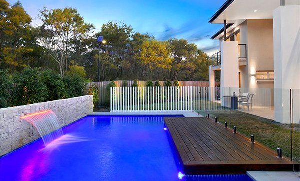 15 transparent glass swimming pool safety fences home for Pool design sydney