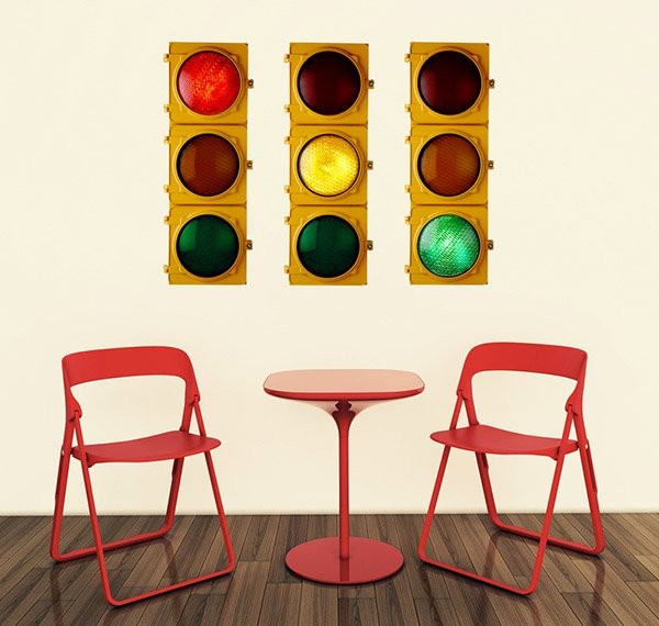 Traffic Lights Wall decal
