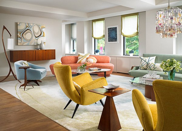 Mid Century Modern Seating Pictures Gallery