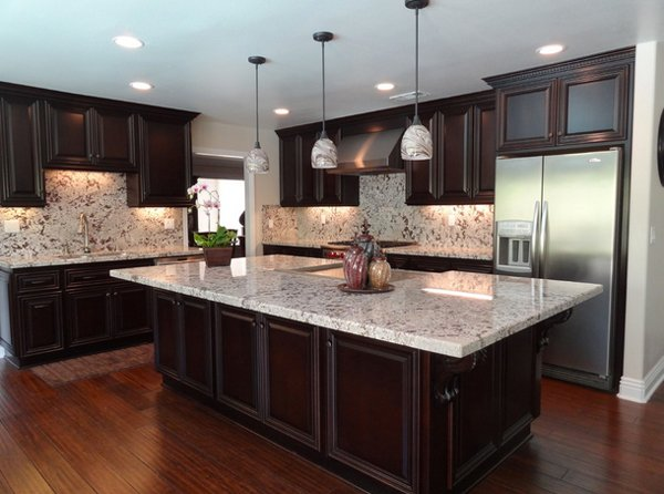 countertops granite brown ice kitchen indianapolis countertop