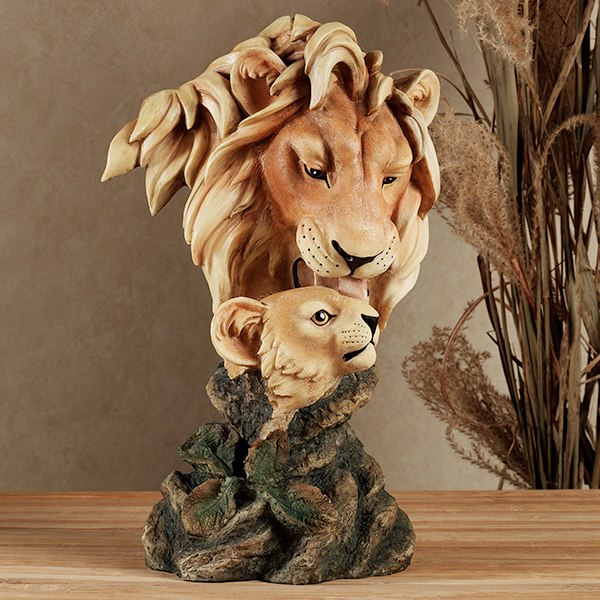 Lion Table Sculpture