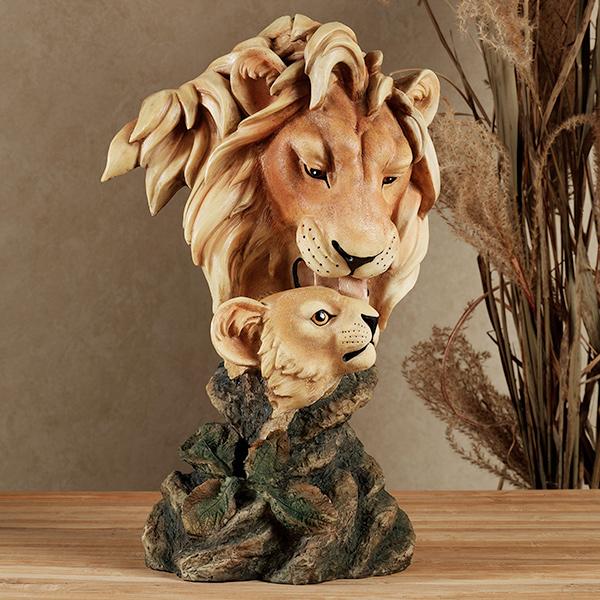 Lion Table Sculpture