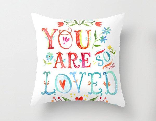 So Loved Pillow