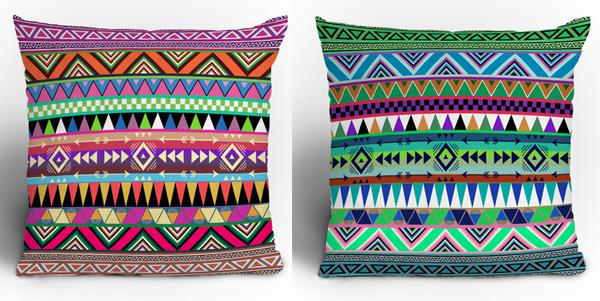 Polyester Throw Pillows