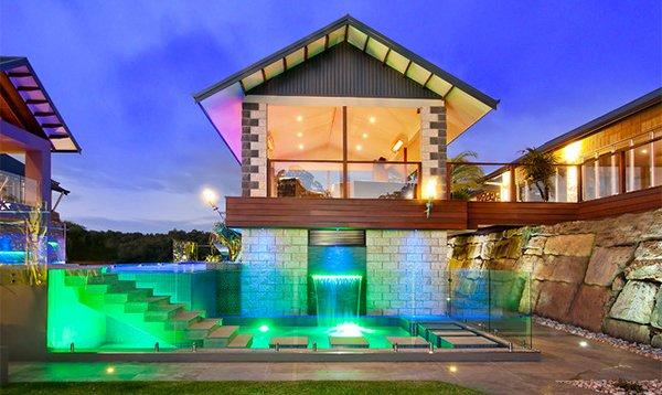 transparent pool fences