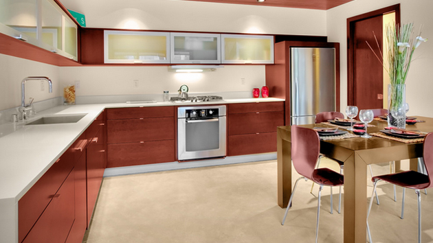 15 beautiful l shaped kitchens home design lover L shaped kitchen design for small kitchens