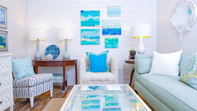 15 awesome beachy living rooms home design lover