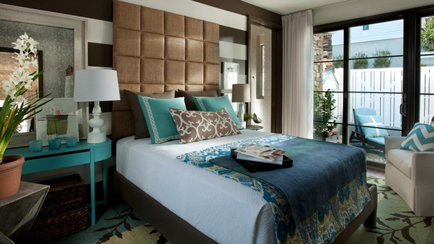 15 beautiful brown and blue bedroom ideas home design lover Blue and tan bedroom decorating ideas