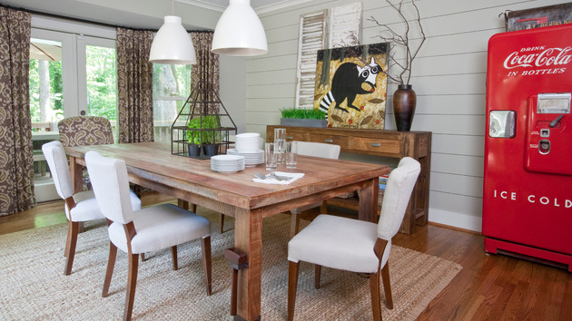 Simple And Stunning: 15 Farmhouse Dining Room Designs | Home Design Lover