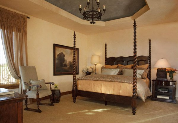 15 Extravagantly Beautiful Tuscan Style Bedrooms | Home Design Lover