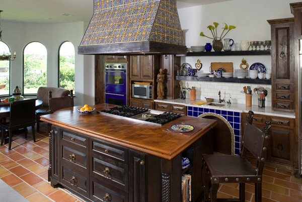Beau Mediterranean Kitchen Designs