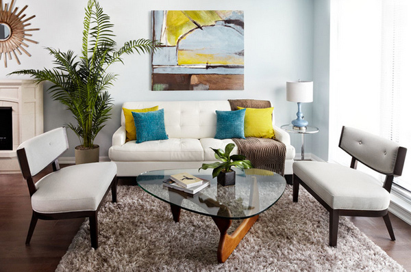15 Stunning Apartment Living Room Ideas | Home Design Lover