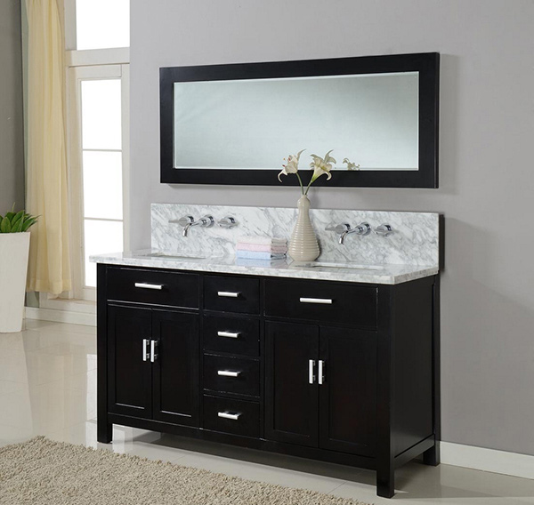15 Inch Bathroom Vanity 15 black bathroom vanity sets | home design lover