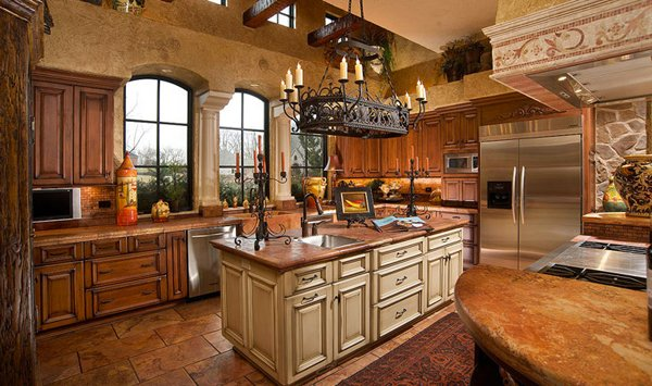 Mediterranean Kitchen Designs Gallery