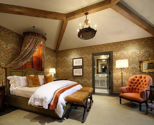 15 Extravagantly Beautiful Tuscan Style Bedrooms | Home ...