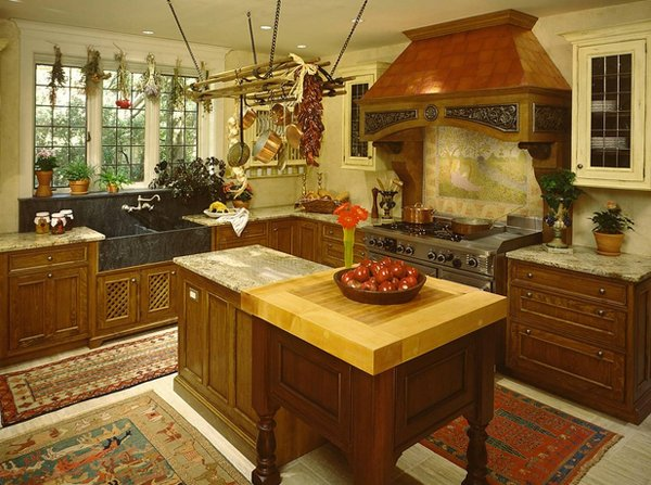 Tudor Style Kitchen. Canterbury Design