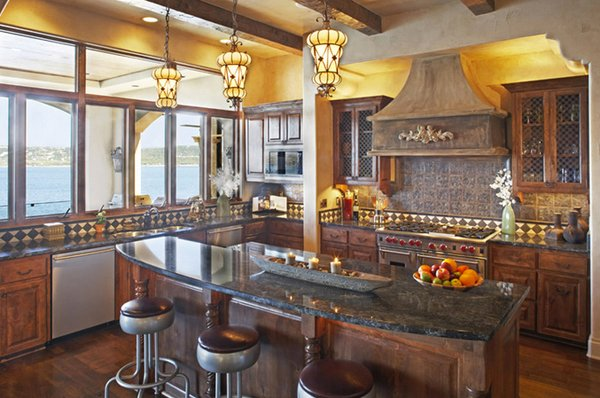 15 Stunning Mediterranean Kitchen Designs | Home Design Lover