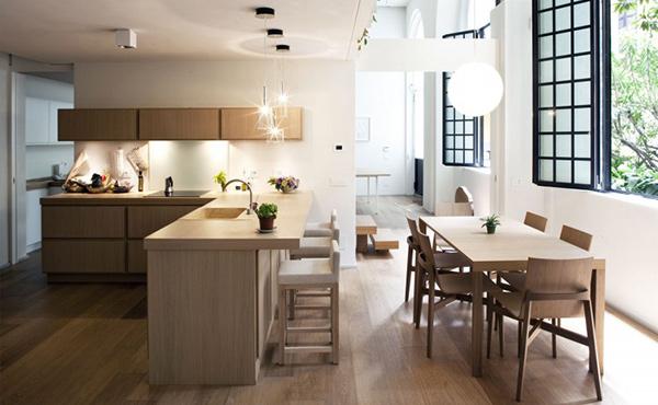 Dining area kitchen